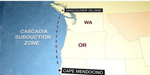 Cascadia Subduction Zone picture